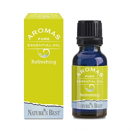 Refreshing Blend, A Stimulating Aroma With Lemon Peel & Rosemary Oil