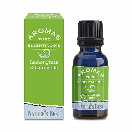 Lemongrass & Citronella, With Deodorising & Refreshing Properties