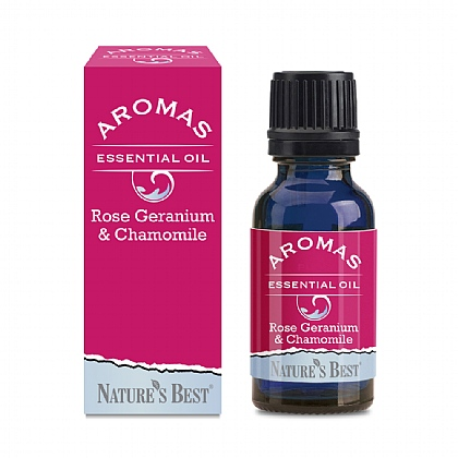 Rose Geranium & Chamomile 20ml