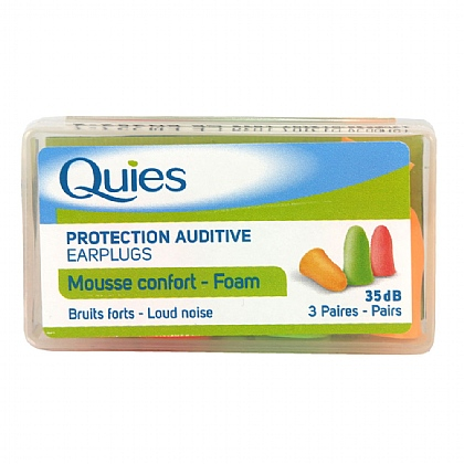 Quies Protection Auditive Foam Earplugs - 3