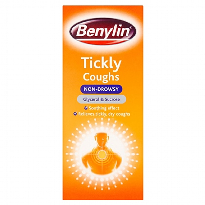Benylin Tickly Coughs Non-Drowsy Syrup - 150ml