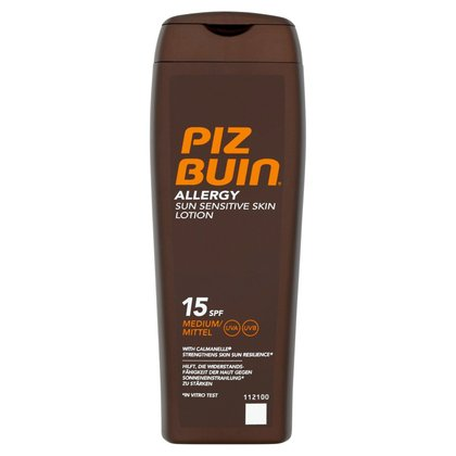 Piz Buin Allergy Sun Sensitive Skin Lotion 15 SPF Medium