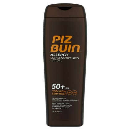 Piz Buin Allergy Sun Sensitive Skin Lotion 50+ SPF Very High
