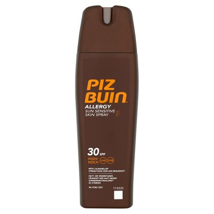 Piz Buin Allergy Sun Sensitive Skin Spray 30 SPF High