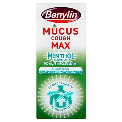 Benylin Mucus Cough Menthol Flavour