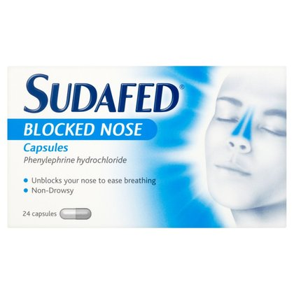 Sudafed Blocked Nose Capsules - 24