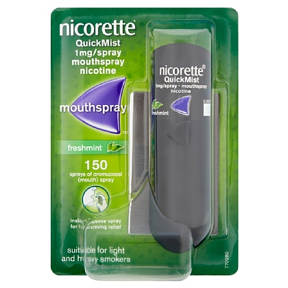 Nicorette QuickMist Mouthspray - 13.2ml