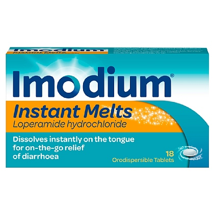 Imodium Instant Melts 18 Tablets