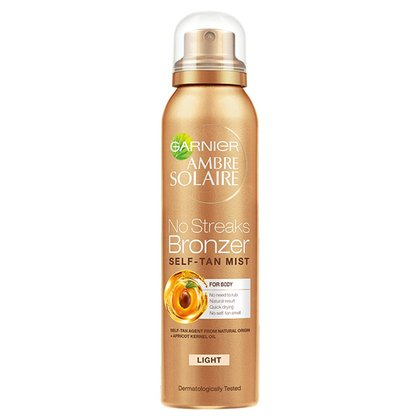 Ambre Solaire Light Self-Tanning Dry Body Mist