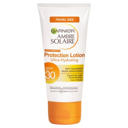 Garnier Ambre Solaire High SPF30 Protection Lotion Face & Body