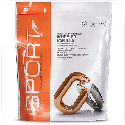 Vanilla Whey 80, For Those Following Exercise And Training Regimes