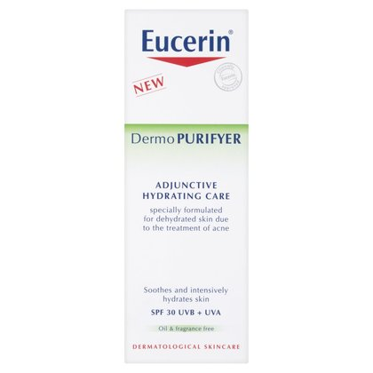 Eucerin® DermoPurifyer Adjunctive Hydrating Care SPF 30 UVB + UVA