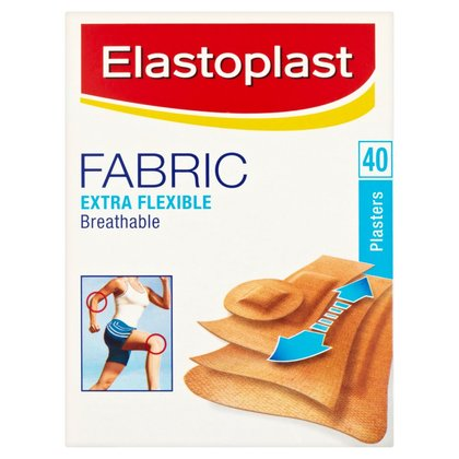 Elastoplast Fabric Assorted Plasters - 40