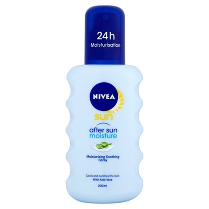 NIVEA SUN® Moisturising After Sun Spray with Aloe Vera