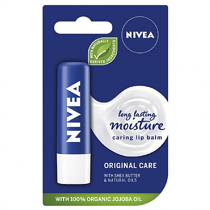 Nivea Original Care Caring Lip Balm