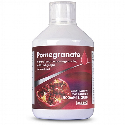 Pomegranate with Red Grape Concentrate, Powerful Source Of Antioxidants