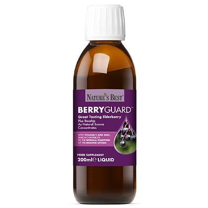 BerryGuard<sup>®</sup>, With Elderberry And Rosehips For Immune System