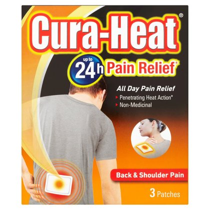 Cura-Heat Back & Shoulder Pain Heat Pack - 3