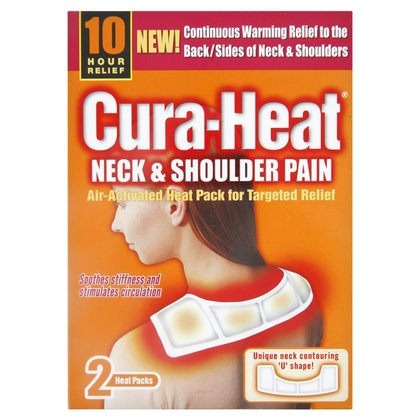 Cura-Heat Neck & Shoulder Pain Heat Pack - 2