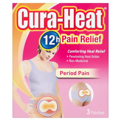 Cura-Heat Period Pain Heat Pack - 3