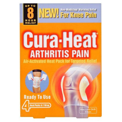 Cura-Heat Arthritis Pain For Knee Heat Pack - 4