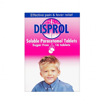 Disprol Soluble Paracetamol Tablets