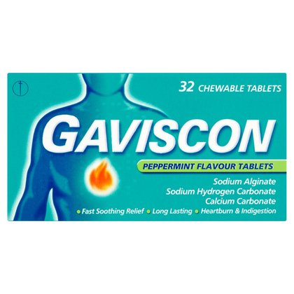 Gaviscon Peppermint Tablets - 32