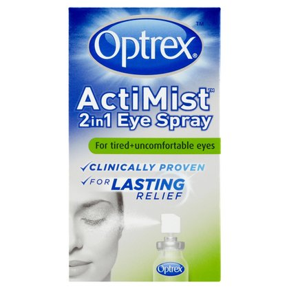 Optrex ActiMist 2in1 Eye Spray - 10ml