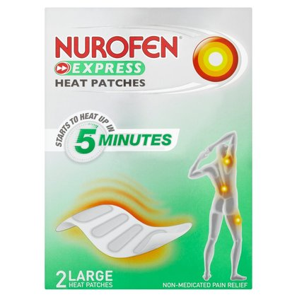 Nurofen Express Heat Patches (Large Size) - 2