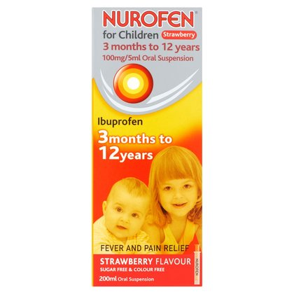 Nurofen for Children Strawberry - 200ml