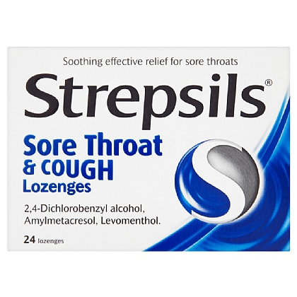 Strepsils Sore Throat & Cough Lozenges - 24