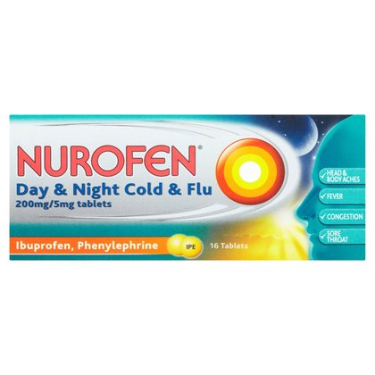 Nurofen Day and Night Cold & Flu Tablets - 16