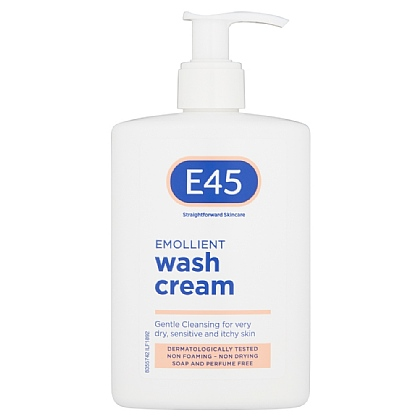 E45 Emollient Wash Cream - 250ml