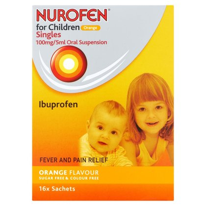 Nurofen for Children Singles Orange - 16