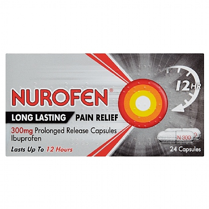 Nurofen Back Pain Sustained Release Capsules - 24