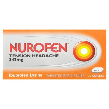 Nurofen Tension Headache Caplets - 12