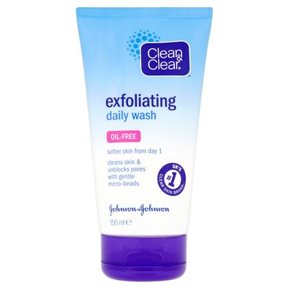 Clean & Clear Exfoliating Daily Wash - 150ml