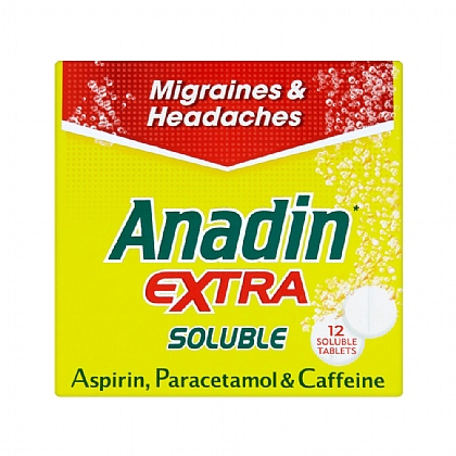 Anadin Extra Soluble 12 Soluble Tablets