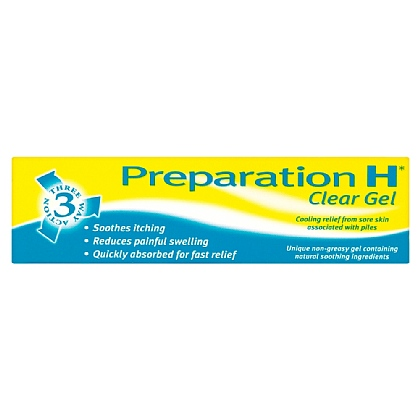 Preparation H Clear Gel - 50g