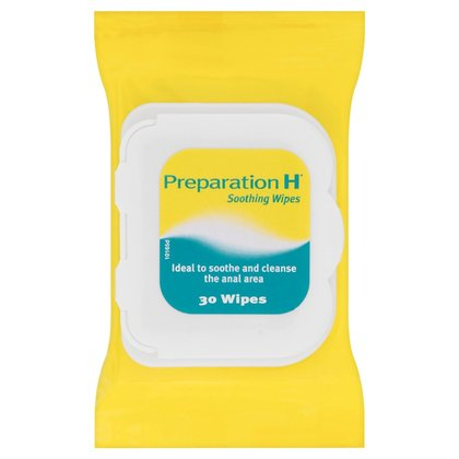 Preparation H Wipes - 30