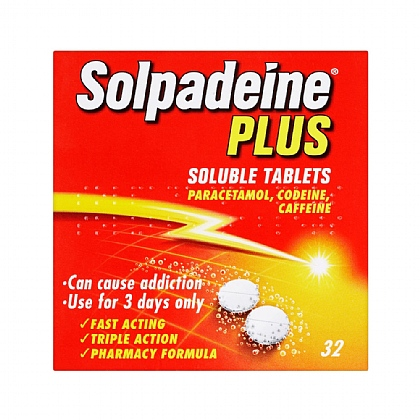 Solpadeine Plus Soluble Tablets - 32