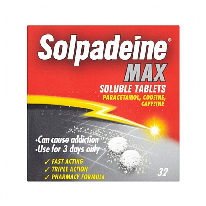 Solpadeine Max Soluble Tablets - 32