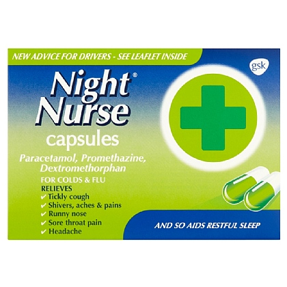 Night Nurse Capsules - 10