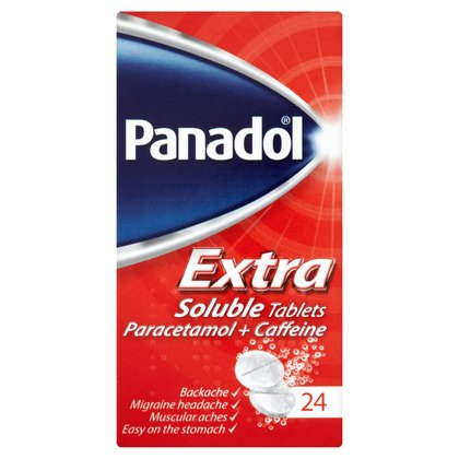 Panadol Extra Soluble Tablets - 24