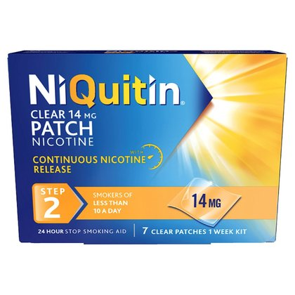 NiQuitin Clear Step 2 Patch - 14mg