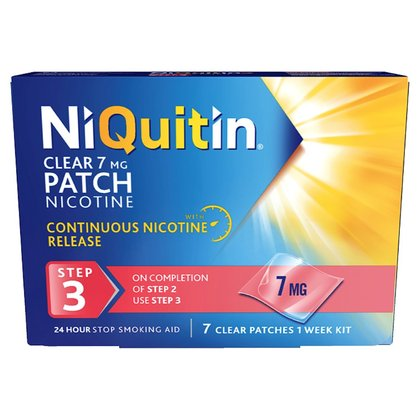 NiQuitin Clear Step 3 Patch - 7mg