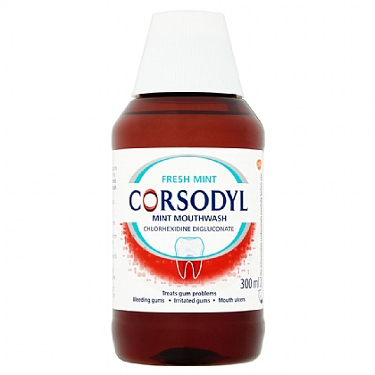 Corsodyl Fresh Mint Mouthwash - 300ml