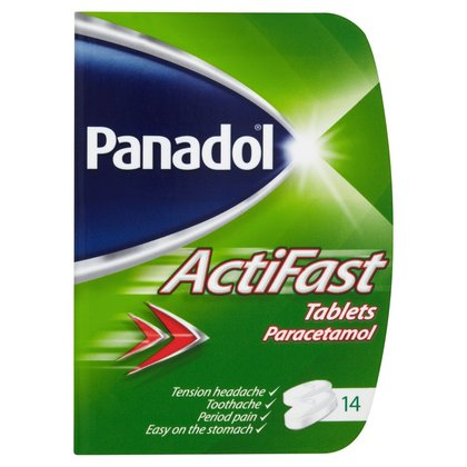 Panadol Actifast Tablets - 14