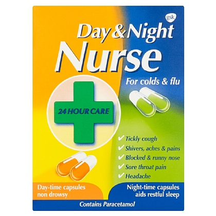 Day & Night Nurse Capsules - 24