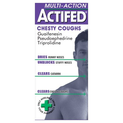 Actifed Multi-Action Chesty Coughs Liquid - 100ml